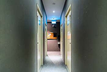 a hallway in the interior of Play By Ear Music School