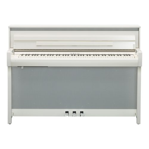 Yamaha Clavinova CLP-685 Digital Piano product front in white