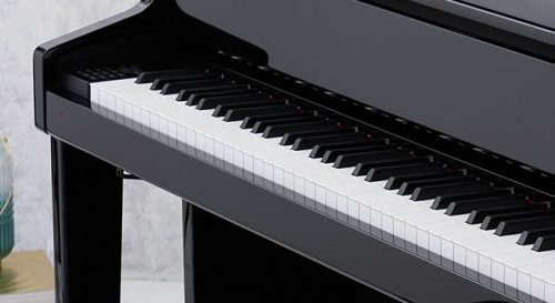 a closer look at the Bechstein keyboard used in Casio Velviano Grand Hybrids