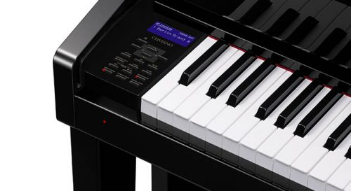 a close look at the technology featured in the Casio Celviano Grand Hybrid series