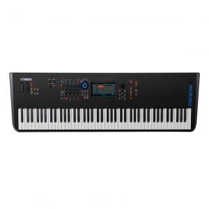 Yamaha MODX8 Synthesizer Keyboard product top