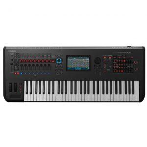 Yamaha MONTAGE 6 Synthesizer Keyboard product top